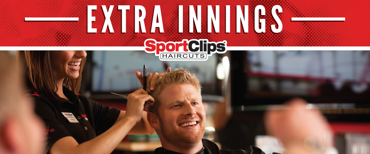 The Sport Clips Haircuts of Spanish Fork  Extra Innings Offerings
